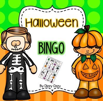 Halloween Bingo. Worksheets & Teaching Resources.