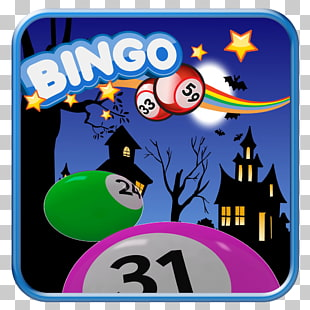 6 halloween Bingo PNG cliparts for free download.