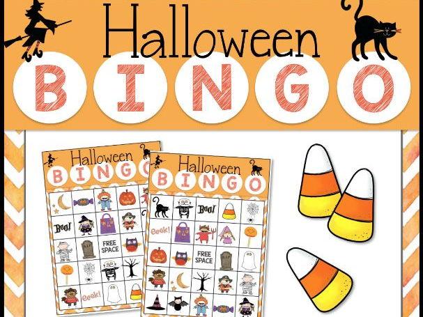 HALLOWEEN Bingo Game for Powerpoint.