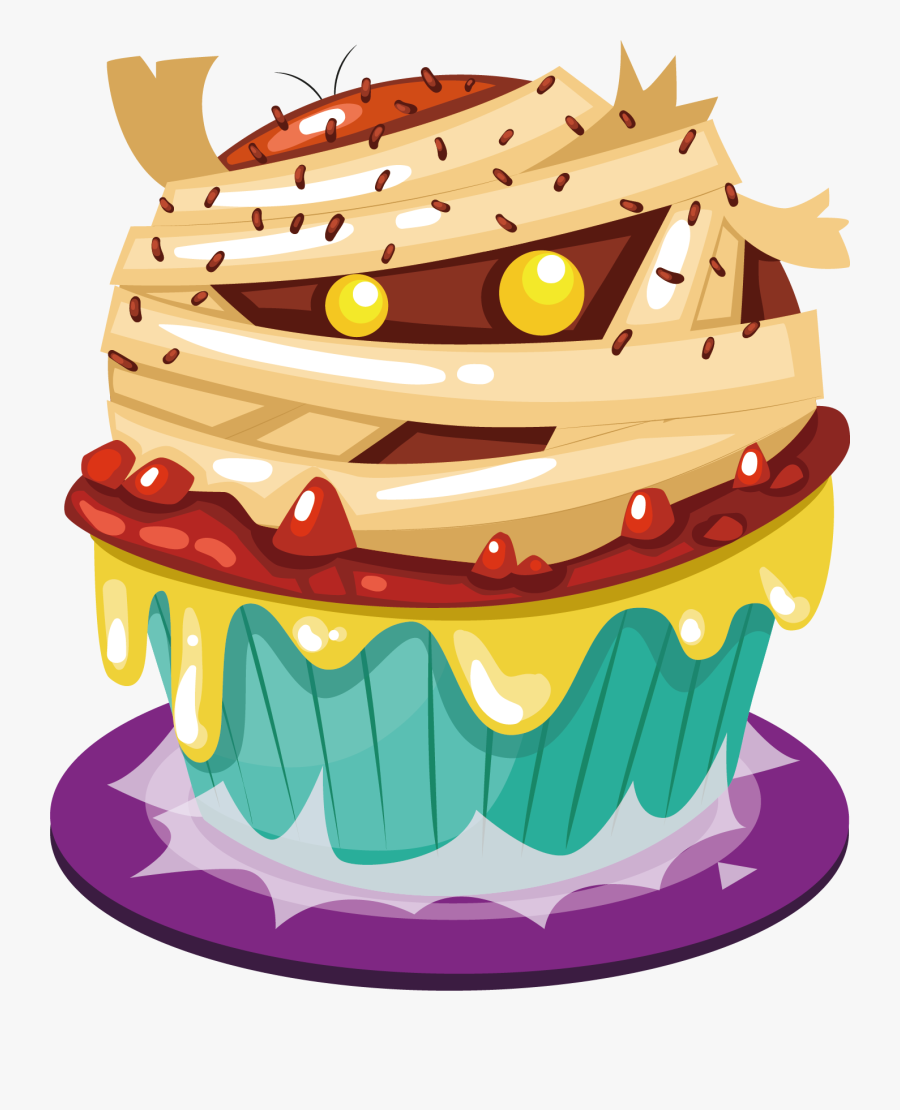 Transparent Birthday Cake On Fire Clipart.