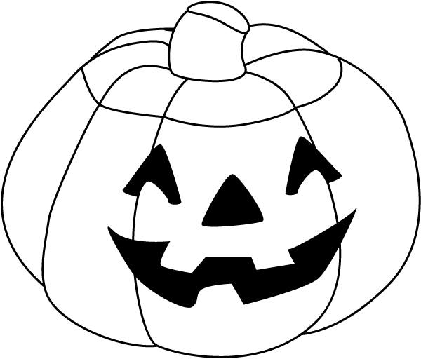 Halloween Clipart Free Black And White.