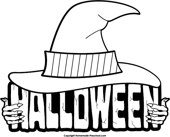 Halloween black and white halloween clipart black and white free.
