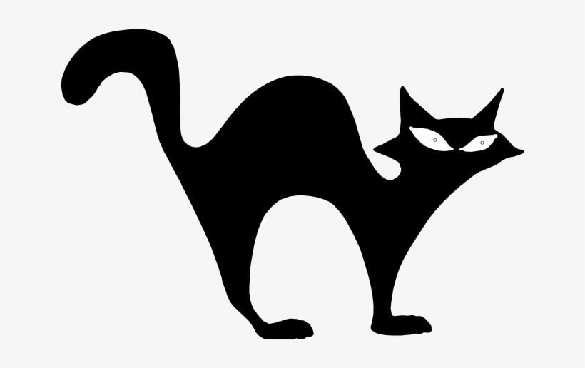 Halloween Black Cat Png Picture.
