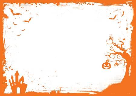 7,342 Halloween Border Stock Vector Illustration And Royalty Free.