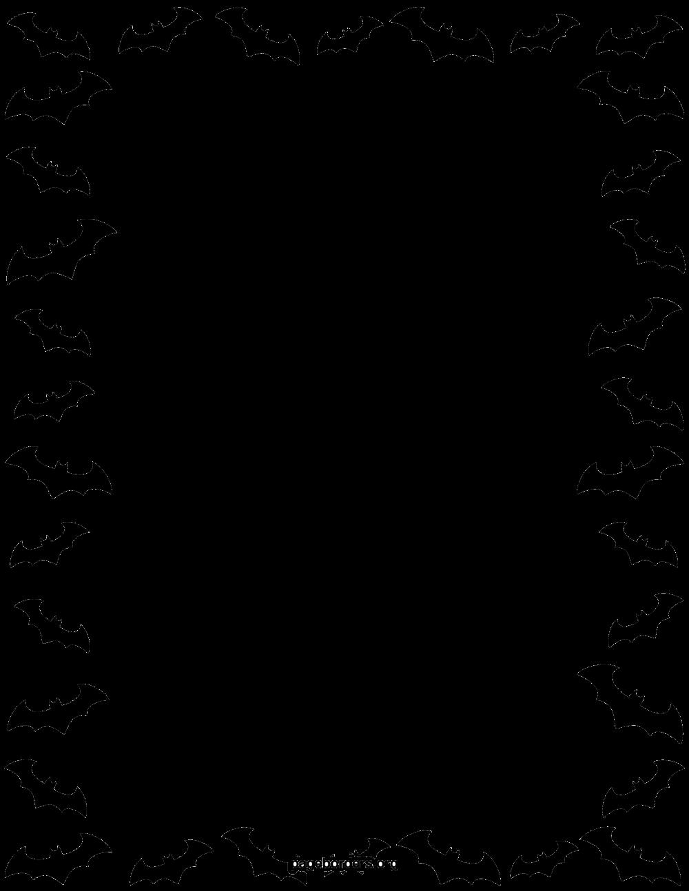 Download Halloween Border Transparent Background For Designing Work.
