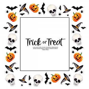 Halloween Border Png, Vector, PSD, and Clipart With Transparent.