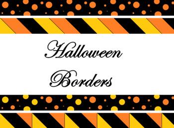 Halloween Borders Clipart.