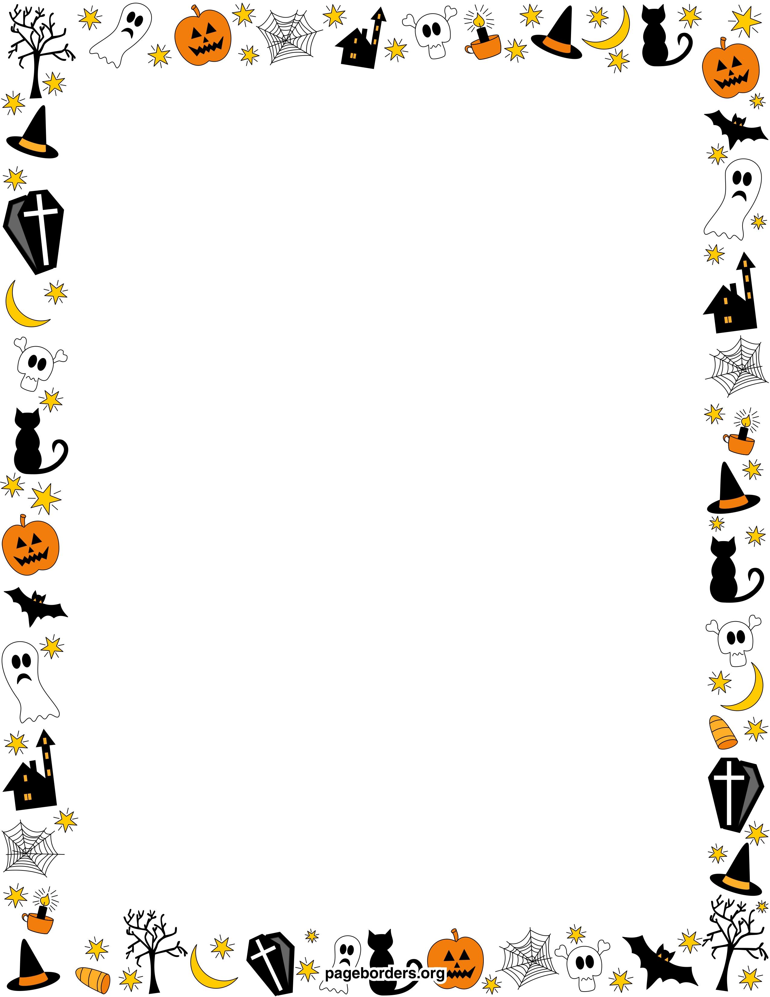 Free Free Halloween Borders, Download Free Clip Art, Free Clip Art.