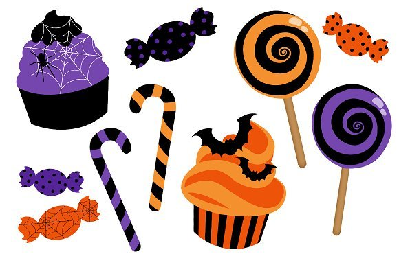 Halloween candy clipart png » Clipart Portal.
