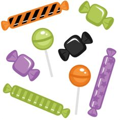 Halloween Candy Clipart Free.