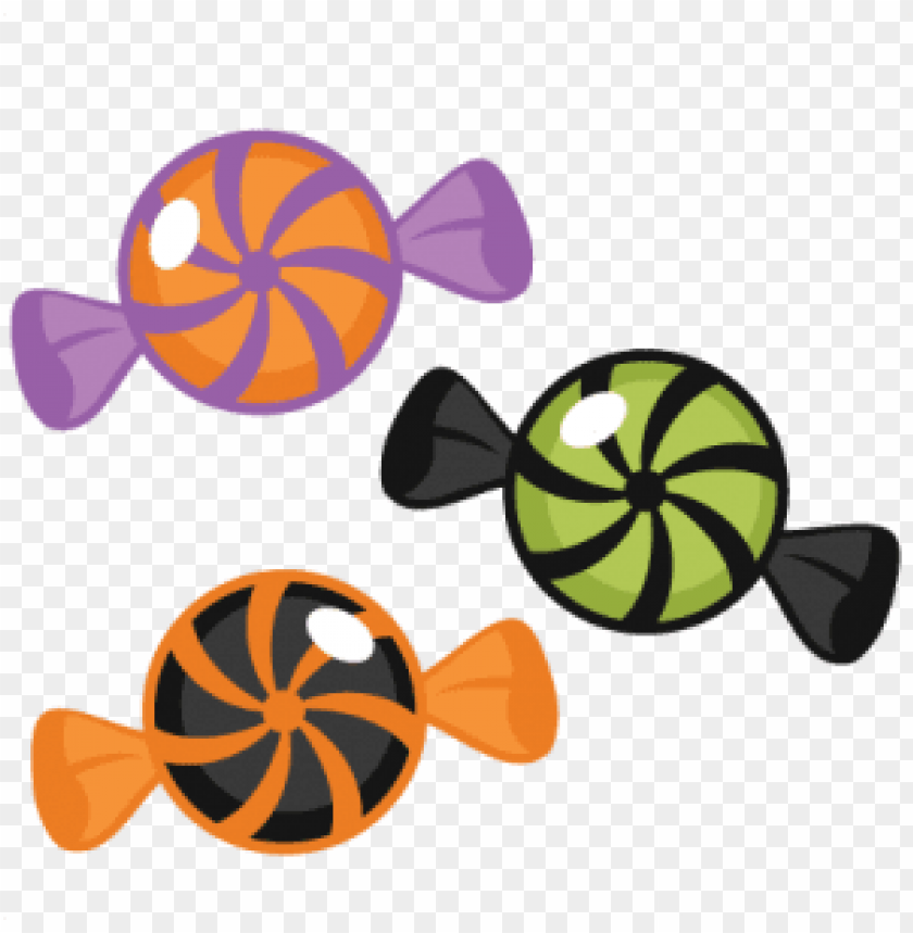 halloween candy PNG image with transparent background.