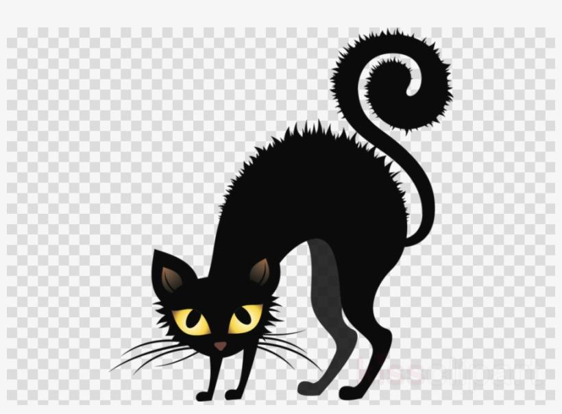 halloween cat clipart #9