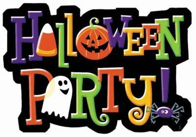 Halloween Classroom Partyfree Clipart.