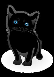 21487 halloween black cat clip art free.