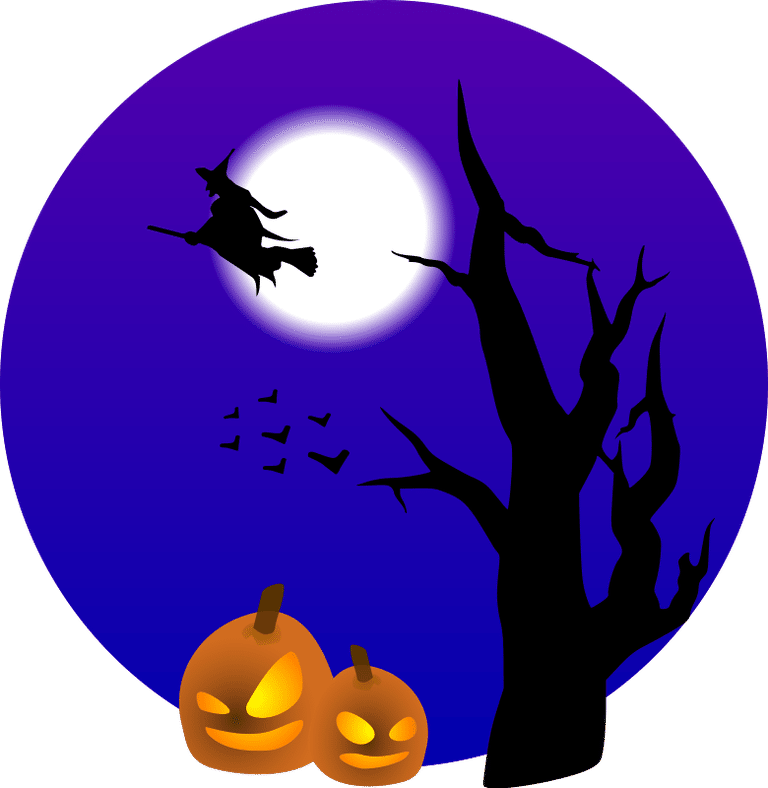 Cute Halloween clipart.