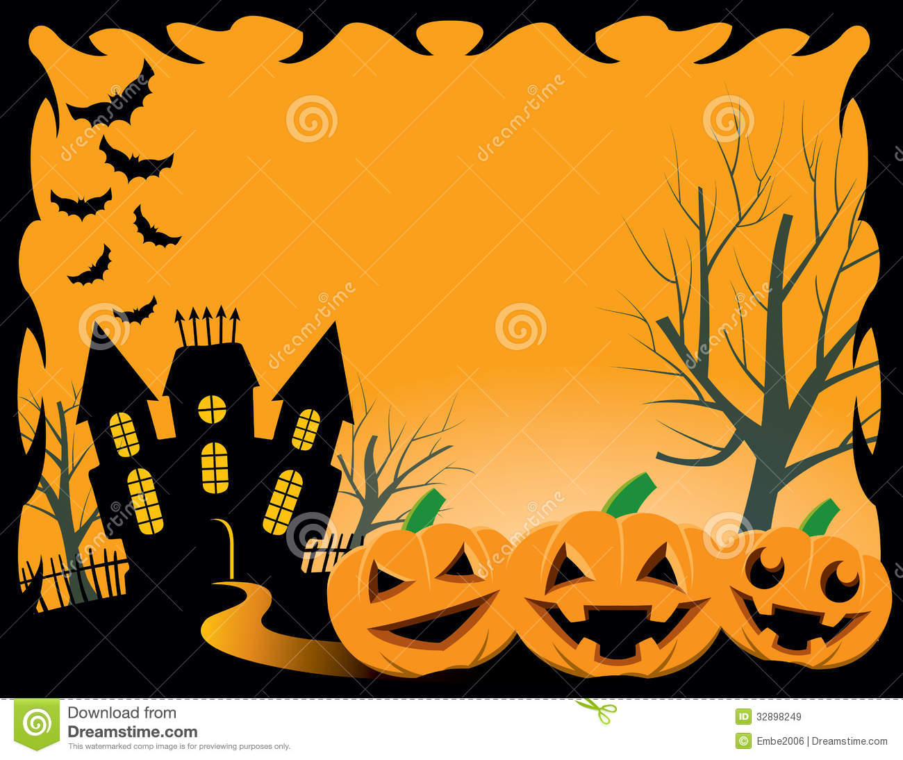 Halloween Background Royalty Free Stock Images.