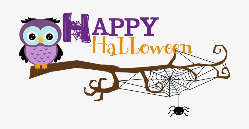 Halloween Banner PNG Clipart.