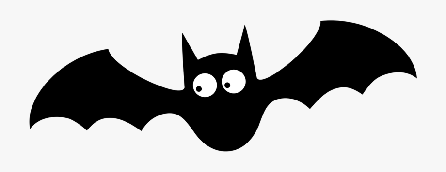 Trend Bat Halloween Clipart Black And White Stock.