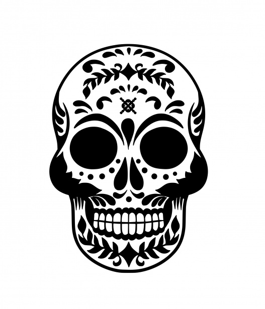 Skull Halloween Clipart Free Stock Photo.