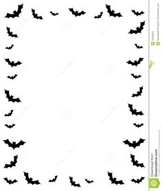 Halloween border with graves, 33760, Borders and Frames, Download.