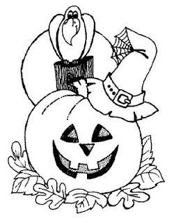 Free Printable Halloween Coloring Pages.