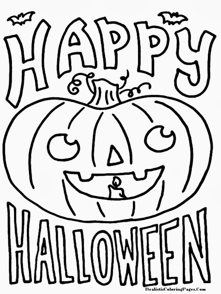 Halloween Coloring Pages For Kids at GetDrawings.com.
