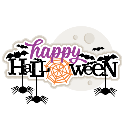 Happy Halloween Clipart Cute.