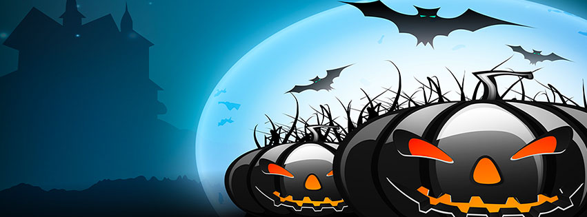 Free Halloween Facebook Covers.