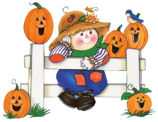 Cute Halloween Clipart for Kids.