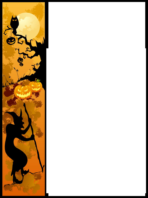 Halloween Border Clipart.