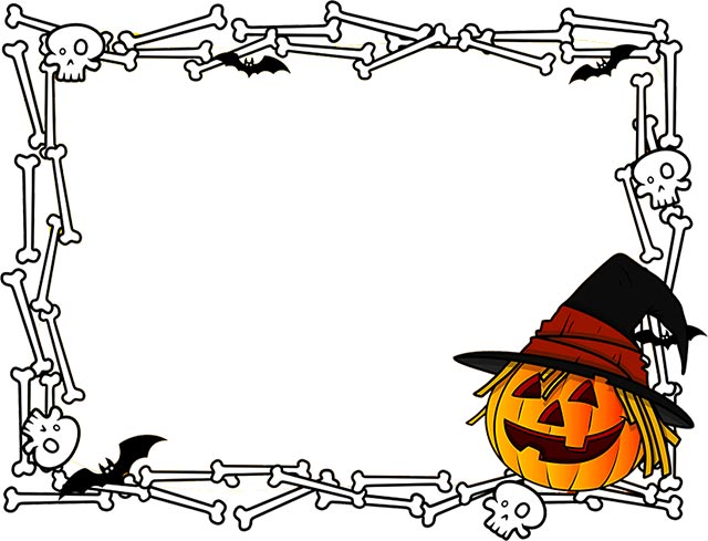 halloween clipart free border - Clipground