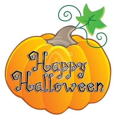 Happy Halloween Free Clipart.