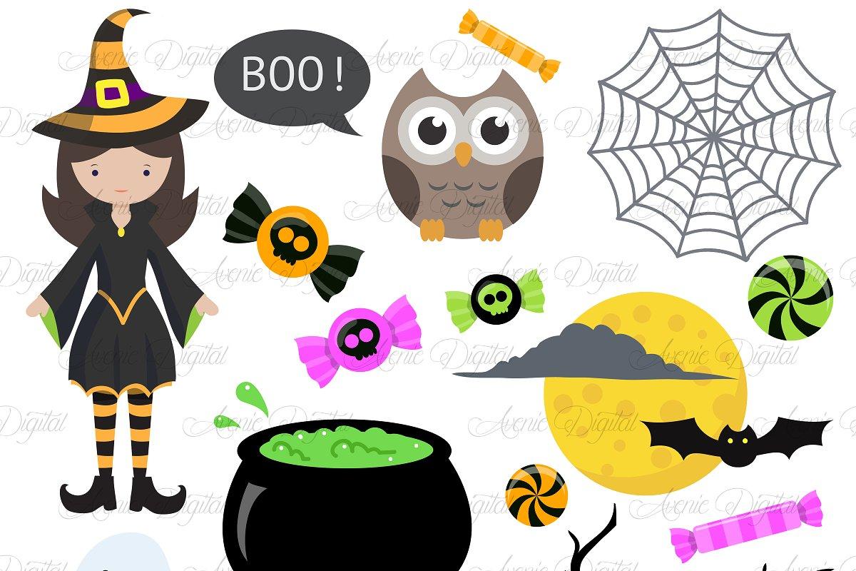 Halloween Clip art Pack.