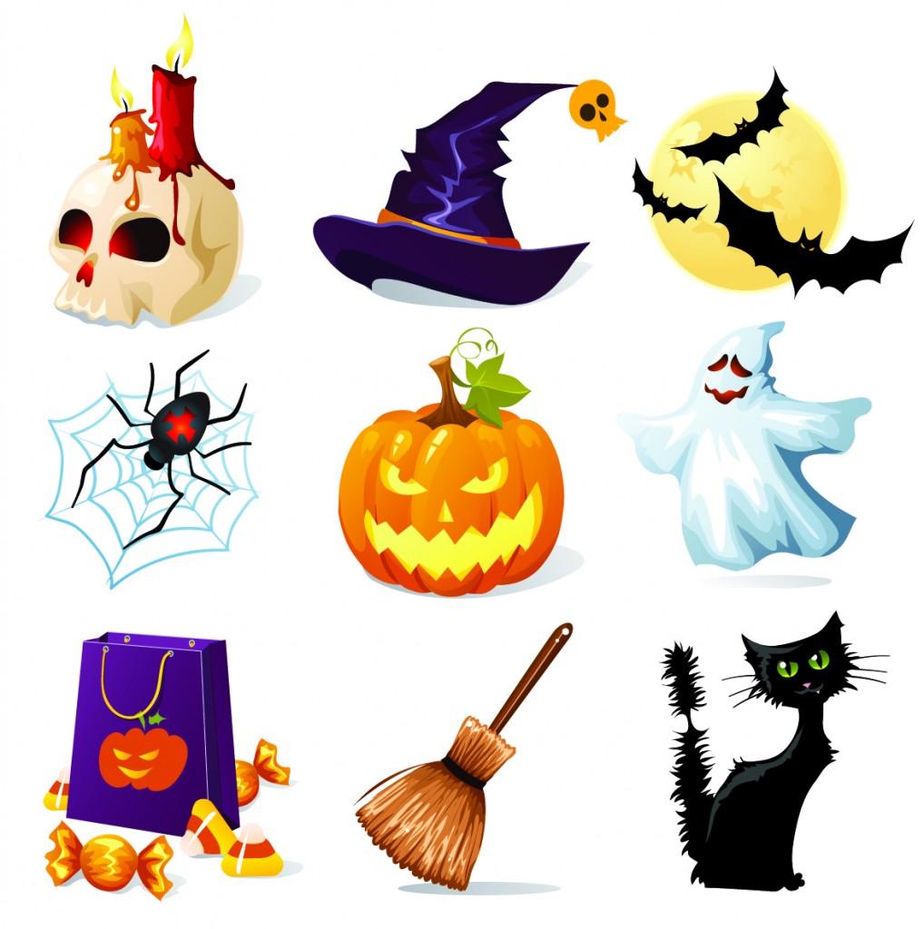 Halloween clipart free image.