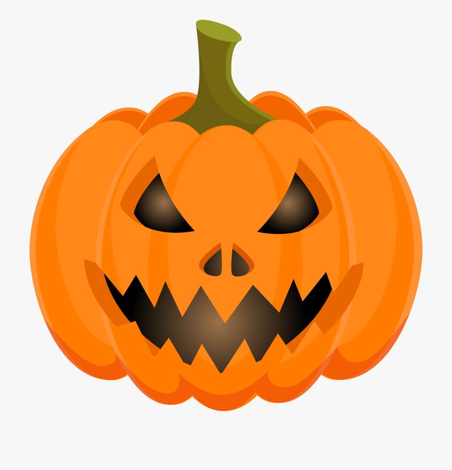 Halloween Clipart Pumpkin Clipart Jack O Lantern Scary.