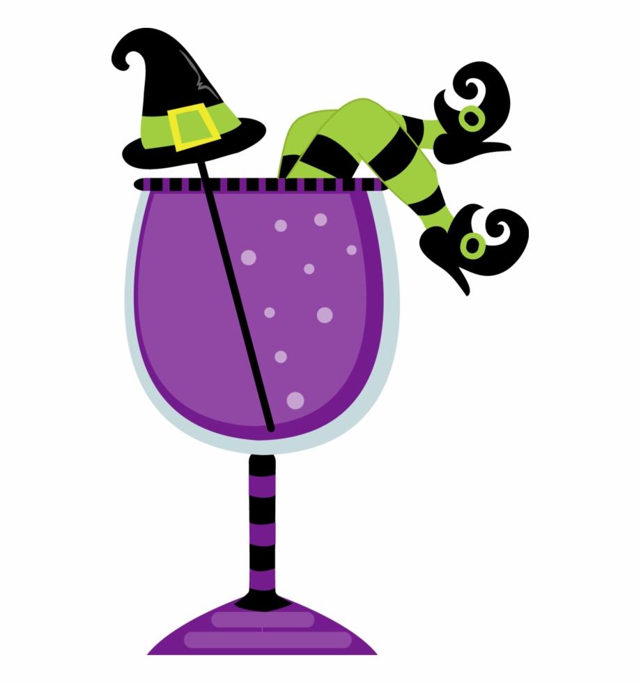 Halloween Cocktail Stickers Planner Eclp Erin Clip.