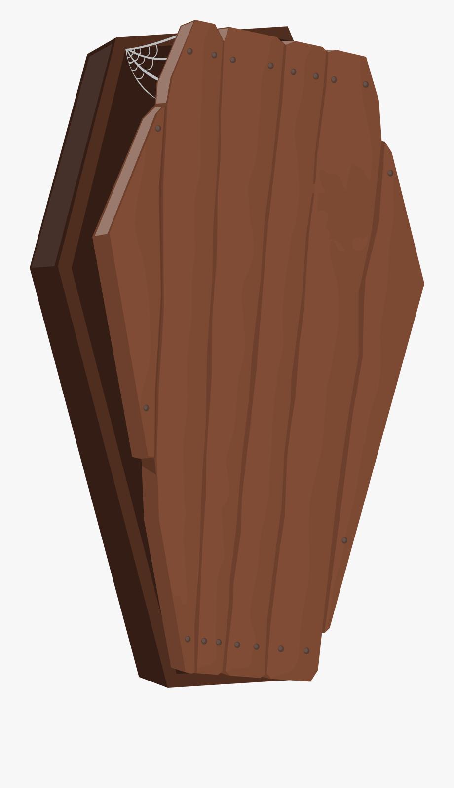 Transparent Coffin Halloween.