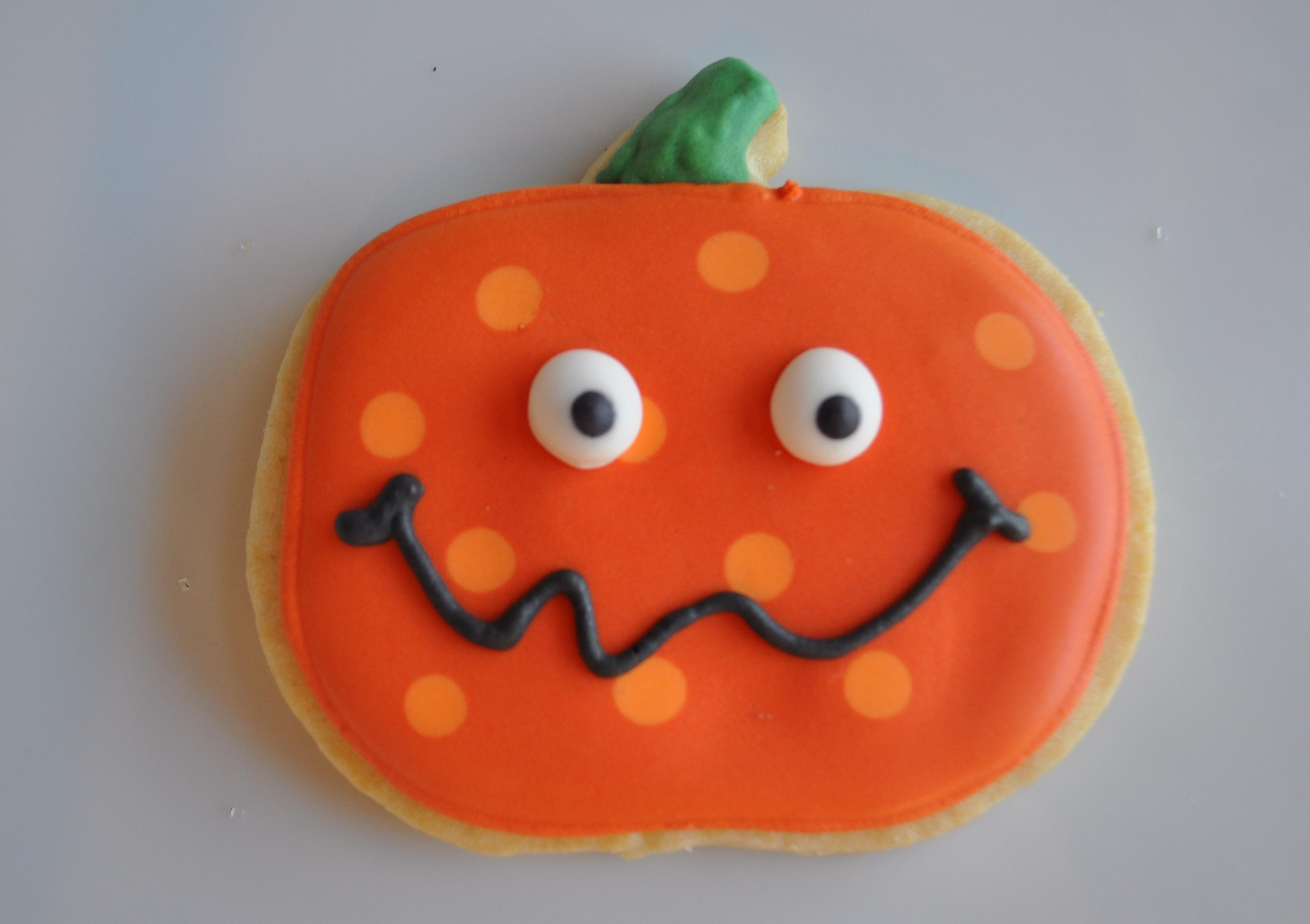 Pumpkin Cookies Clipart.