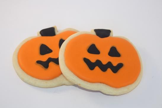 Halloween Sugar Cookie Clipart.