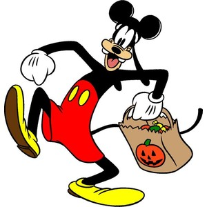 Friendly Disney Characters Clipart.