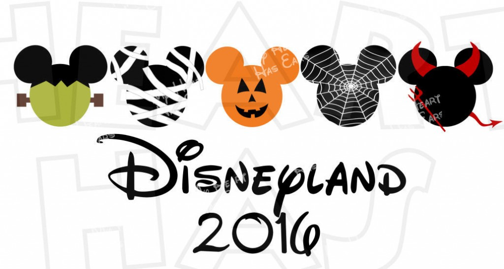 2016 Disney Land Characters Clipart Free.