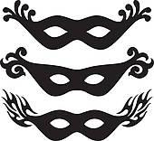 Masquerade Clip Art.
