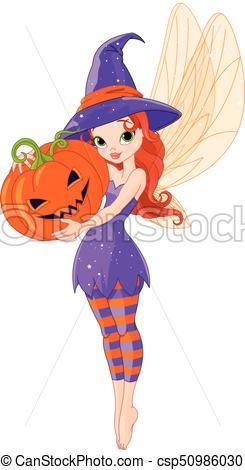 Halloween fairy.