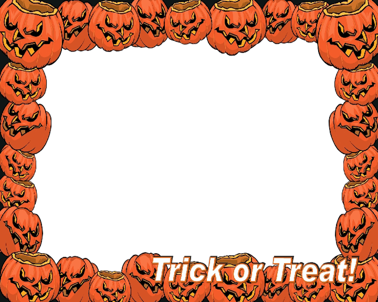 Frame Halloween Vector Download Png Free #31328.