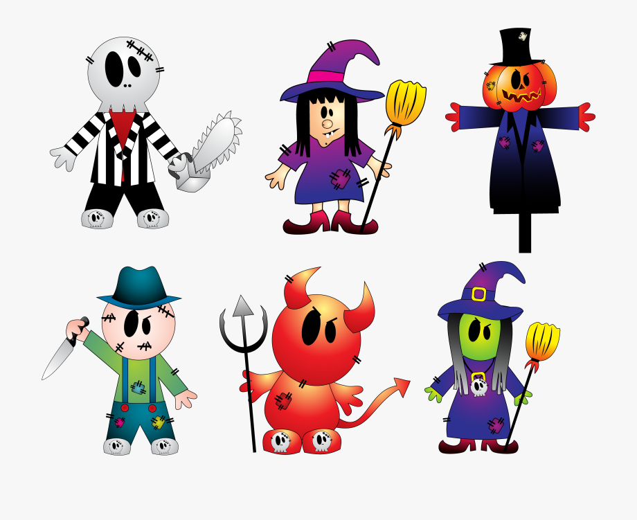 Halloween Creepy Collection Png Clipart.
