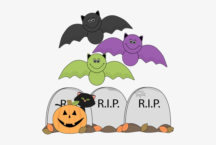 Fun Halloween Graveyard.