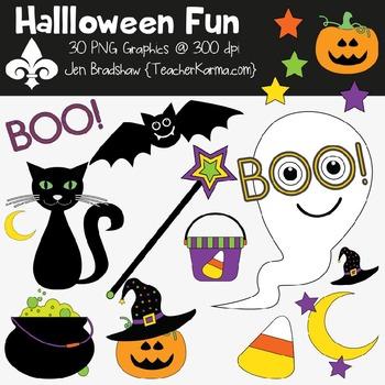 Halloween Fun Clipart ~ Commercial Use OK ~ Autumn.