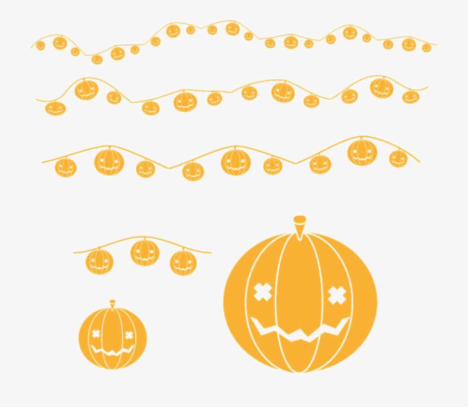 Garland Clipart Halloween.
