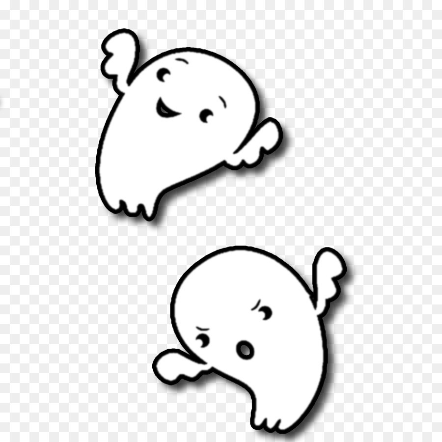 Halloween Ghost Drawing clipart.
