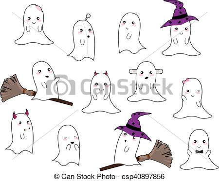 Halloween Ghosts.